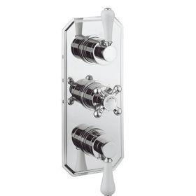 Crosswater Belgravia Lever 3000 Shower Valve 3 Way Diverter - Slimline Plate