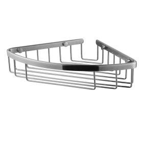 Flova 205mm corner rack – Brushed Nickel