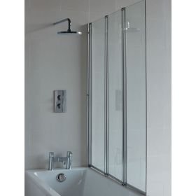 Clearwater Three-panel bathscreen