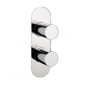 Crosswater Central Twin Shower Valve With 3 Way Diverter