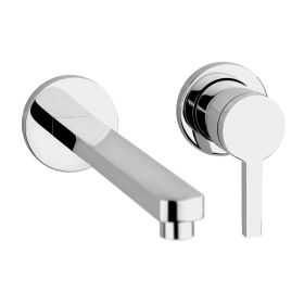 Just Taps Cena Single Lever Wall Mounted Basin Mixer