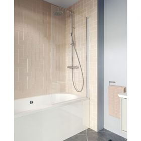 Crosswater Clear 6 Double Bath Panel