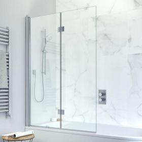 Crosswater Design+ Double Bath Screen