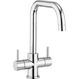 Crosswater Design Dual Lever Kitchen Mixer