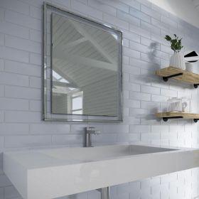HIB Georgia 60 Decorative Bathroom Mirror