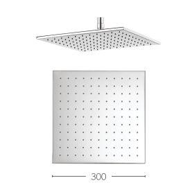 Crosswater Square Zion 300mm Shower Head