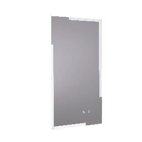 Just Taps Mirror with touch switch and demister pad 450mm