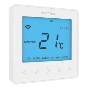 Heatmiser NeoStat Programmable Thermostat V2 - Glacier White