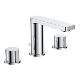 Just Taps Hugo Deck Mounted Basin Mixer With Pop Up Waste
