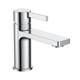 Just Taps Hugo Single Lever Basin Mixer Without Pop Up Waste