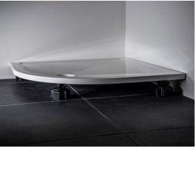 Crosswater Kai 25mm Tray Rectangular leg set for 1400–1700
