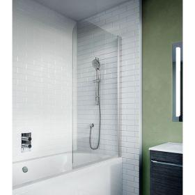 Crosswater Kai 6 Fully Folding Bath Screen Left Hand