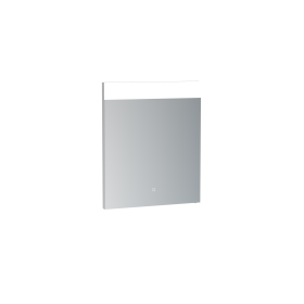 Saneux MATTEO 50cm electric mirror with horizontal top light, and down lighting