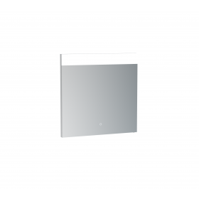 Saneux MATTEO 60cm electric mirror with horizontal top light, and down lighting