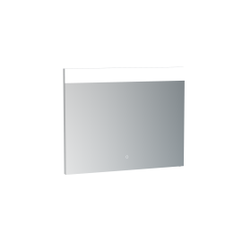 Saneux MATTEO 75cm electric mirror with horizontal top light, and down lighting
