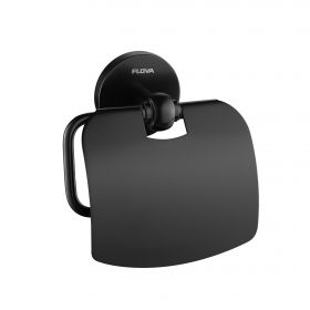 Flova Coco toilet roll holder – Matt Black