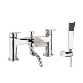 Crosswater Flow Bath Shower Mixer with Kit