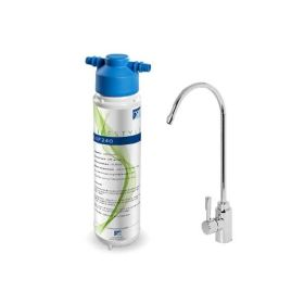 Monarch LSF240 Water Filter System + Bari Drinking Water Tap Chrome
