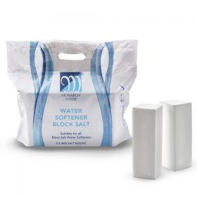 Monarch Ultimate Water Softener Block Salt 8kg Bag - 138 Qty