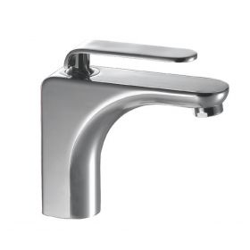 Just Taps Vue Single Lever Basin Mixer Without Pop Up Waste