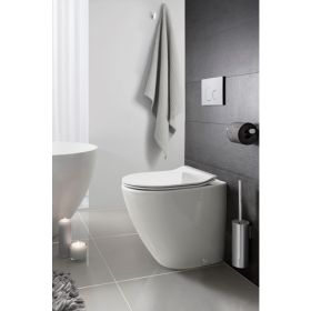 Crosswater Svelte Back to Wall Rimless Toilet & Seat