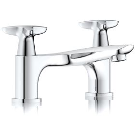 Just Taps Plus Space Deck Mounted Bath Filler