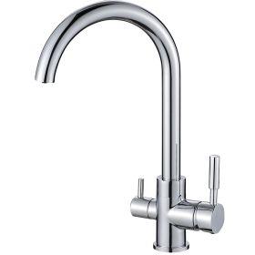 Central Chrome 3-Way (Tri-flow) Kitchen Tap