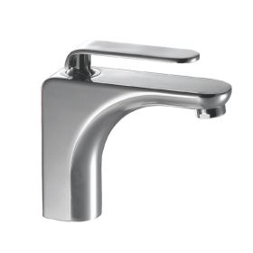 Just Taps Vue Single Lever Basin Mixer With Pop up Waste