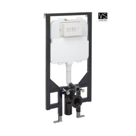 Crosswater 1.14m Height Ultra Slim Wall Hung Toilet Support Frame