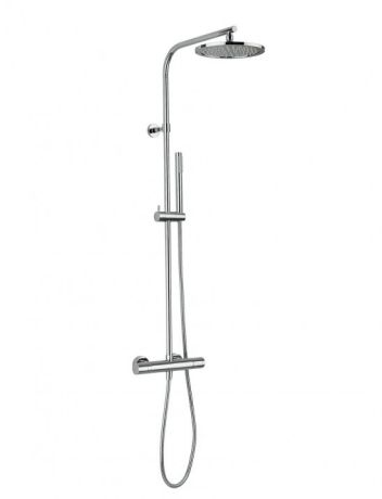 Crosswater Curve Cool Touch Multifunction Thermostatic Shower Valve with Fixed Head & Kit