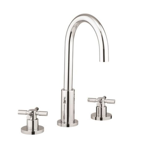 Crosswater Totti Basin 3-Hole Set with Waste
