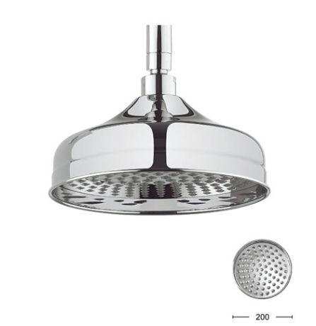 Crosswater Round Belgravia 200mm Shower head