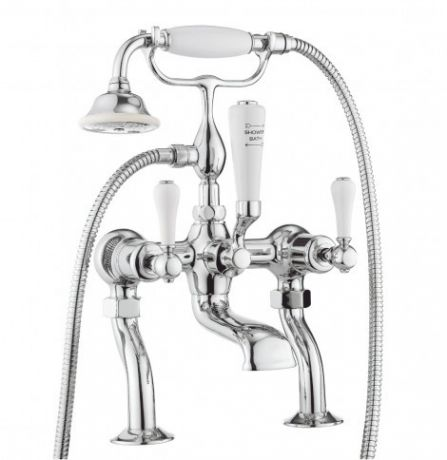 Crosswater Belgravia Lever Bath Shower Mixer with Kit