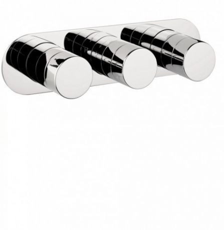 Crosswater Central Thermostatic Shower Valve with 3 Control CE2001RC