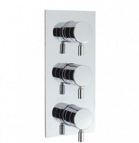 Crosswater Design Thermostatic Shower Valve with 3-way Diverter