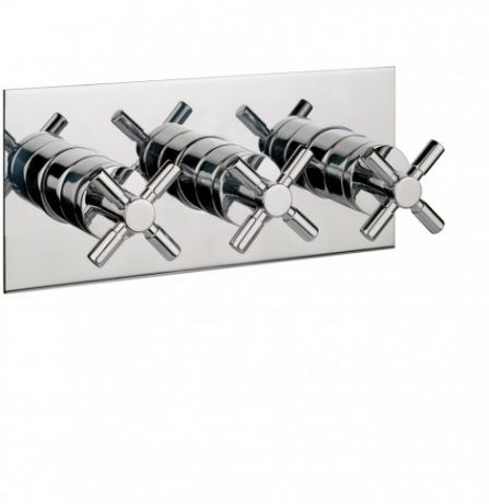 Crosswater Totti Thermostatic Shower Valve with 3-way Diverter TO3001RC
