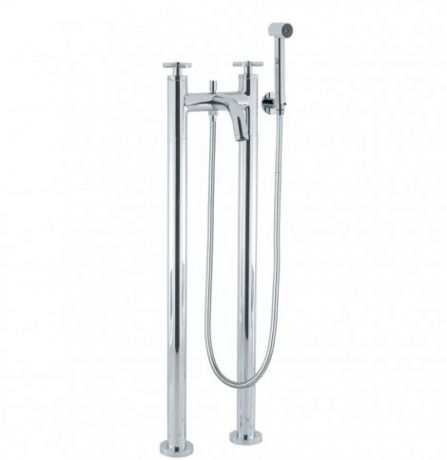 Crosswater Totti Bath Shower Mixer with Kit and Legs