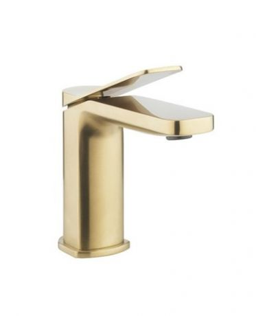 Crosswater Glide II Basin Monobloc - Brushed Brass