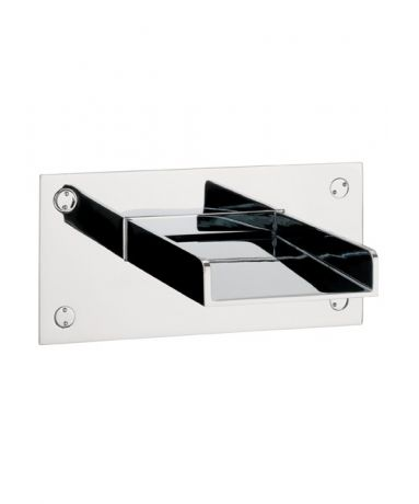 Crosswater Water Square Wall Mounted Bath Spout