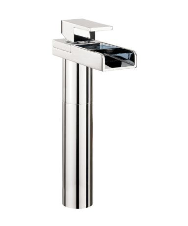 Crosswater Water Square Basin Tall Monobloc without Pop-up Waste