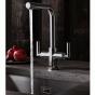 Crosswater Cucina Tropic Dual Control Kitchen Mixer Tap – Chrome