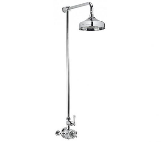 Crosswater Belgravia Thermostatic Shower Valve with Fixed Head