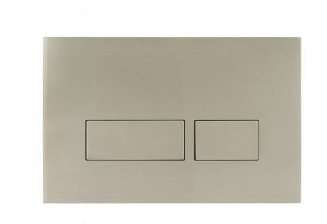Crosswater Flush Plate - Mike Pro Stainless Steel Brushed Finish