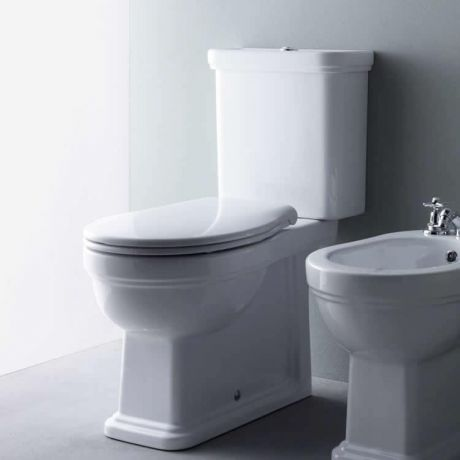 GSI Classic 70 Close Coupled WC, Cistern & Soft Close Seat