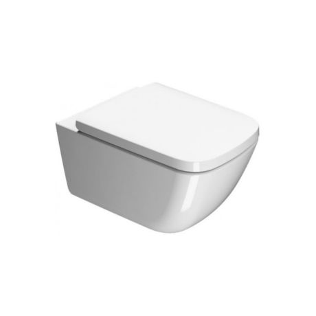 GSI Sand 50 Rimless Wall Hung Toilet & Soft Close Seat