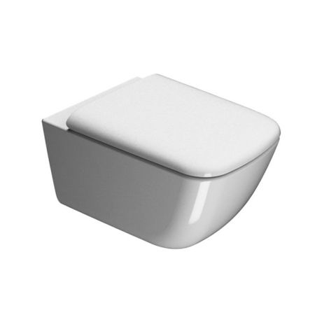GSI Sand 55 Rimless Back To Wall Toilet & Soft Close Seat