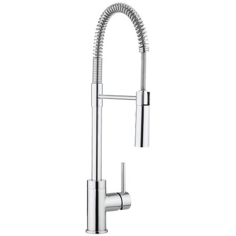 Crosswater Cucina Cook Single Lever Kitchen Sink Mixer Tap With Flexi Spray – Chrome