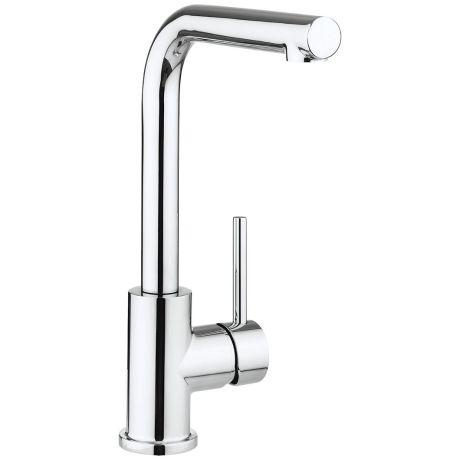 Crosswater Cucina Design Side Lever Kitchen Sink Mixer Tap – Chrome