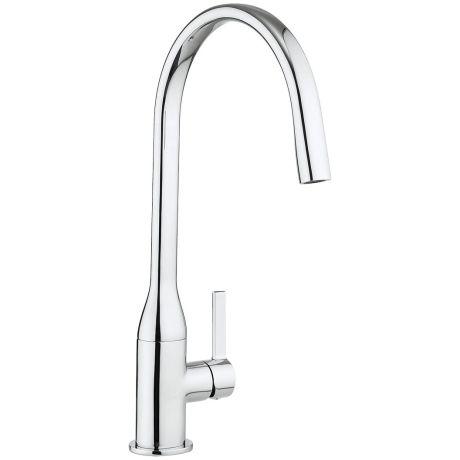 Crosswater Cucina Svelte Side Lever Kitchen Sink Mixer Tap – Chrome