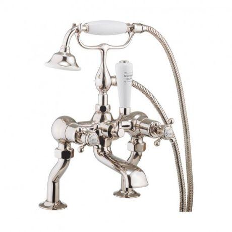 Crosswater Belgravia Nickel Bath Shower Mixer